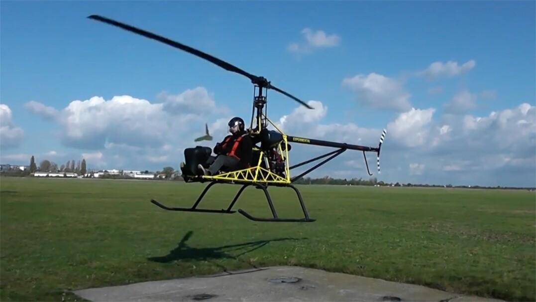 Helikopter bez osłony. Już samo nagranie dostarcza wielu emocji