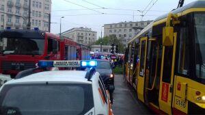 Zderzenie tramwajów na placu Unii. Są ranni, w tym dzieci