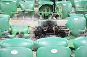 Stadion zdemolowany, Legia potępia chuliganów