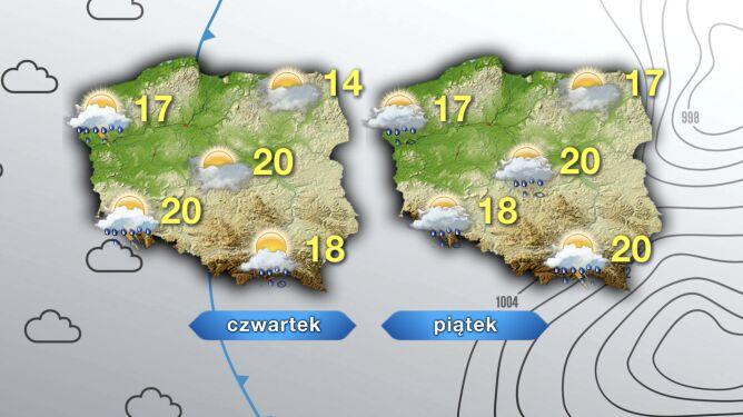 Pogoda na czwartek i piątek