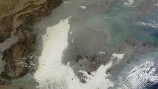 Chiński smog jak Chiński Mur. Tak wielki, że widać go z kosmosu
