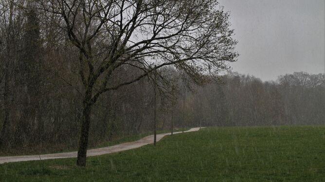 Pogoda na dziś: lokalnie możliwe opady, nawet śniegu