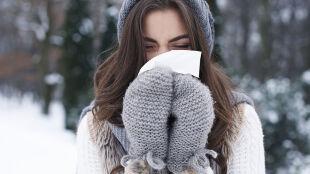 Nawet 25 procent ludzi może mieć uczulenie na zimno